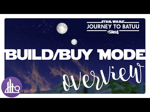 The Sims 4 Starwars: Journey to Batuu Game Pack | Build and Buy Mode Overview |