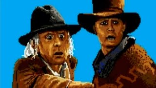 Back to the Future Part III (Genesis) Playthrough - NintendoComplete
