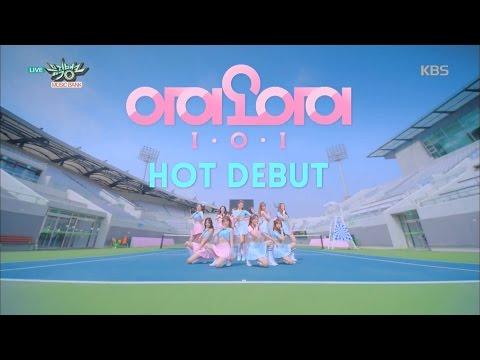 뮤직뱅크 - I.O.I, 꿈을 쫓는 11명의 소녀들! 'Pick Me + Dream Girls'.20160520