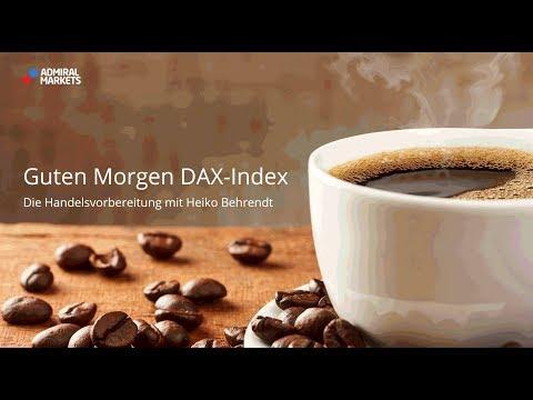 Guten Morgen DAX-Index für Fr. 20.04.18 by Admiral Market