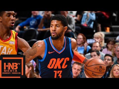 OKC Thunder vs Utah Jazz Full Game Highlights | 12/22/2018 NBA Season