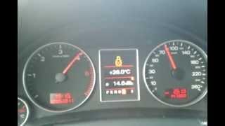 Audi A4 B7 3.0TDI Avant Quattro acceleration