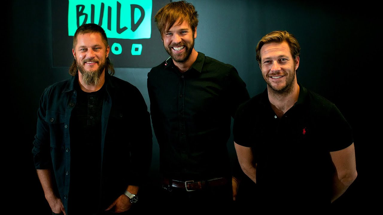 Danger Close Stars Travis Fimmel And Luke Bracey Chat James Bond Rumours And Million Dollar Beards Youtube