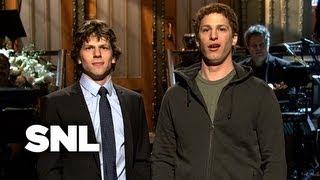 Jesse Eisenberg Monologue - Saturday Night Live