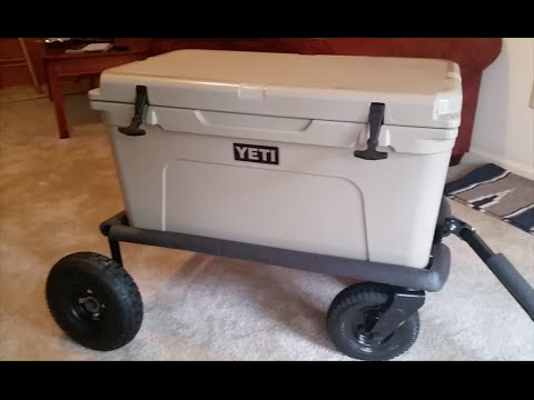 Build A Cheap Yeti Cooler Cart From Scrap Metal Youtube