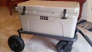 Build a Cheap Yeti Cooler Cart From Scrap Metal