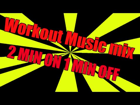 2 Minute on 1 minute off Workout interval training Music timer 20