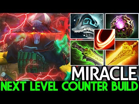 MIRACLE [Juggernaut] 200 IQ Magic Build Next Level Counter 7.24 Dota 2