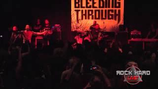 Bleeding Through ~  Sister Charlatan ~ Final West Coast Tour 7/18/14 on ROCK HARD LIVE