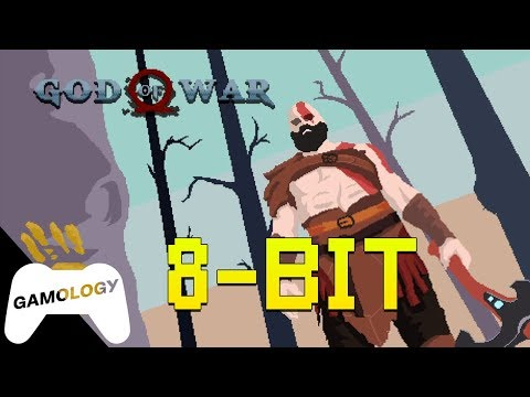 God Of War Gets An 8 Bit Makeover!