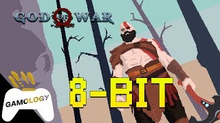 God of War gets an 8 Bit Makeover!