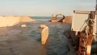 Канал, соединяющий Азовское море с Молочным лиманом, открыли
