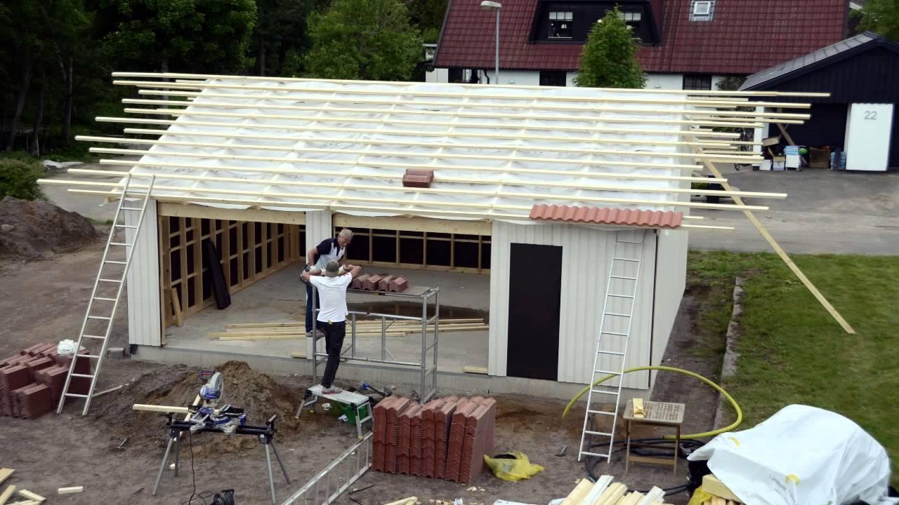 bygga garage av container