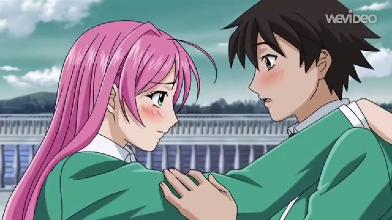 Moka and tsukune vampire