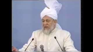 Friday Sermon 6 October 1995