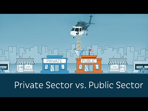Private Sector vs.  Public Sector