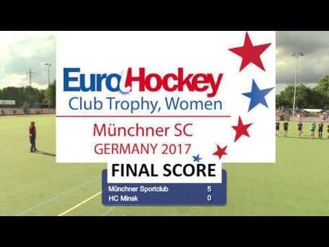 EuroHockey Club Trophy 2017 Women - Munich, Germany - Day 3