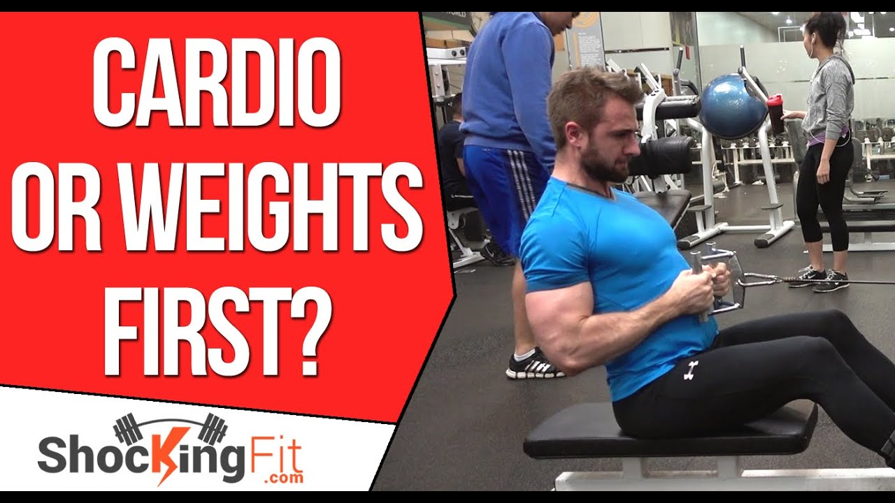Should You Do Cardio or Lift Weights First?