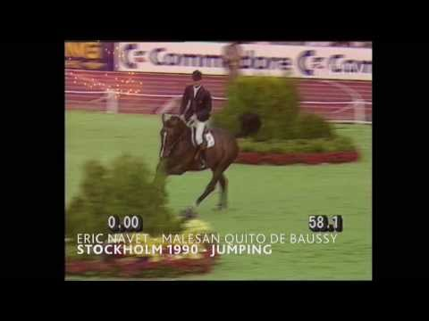 Eric Navet (Jumping) - 1990 World Equestrian Games™ in Stockholm