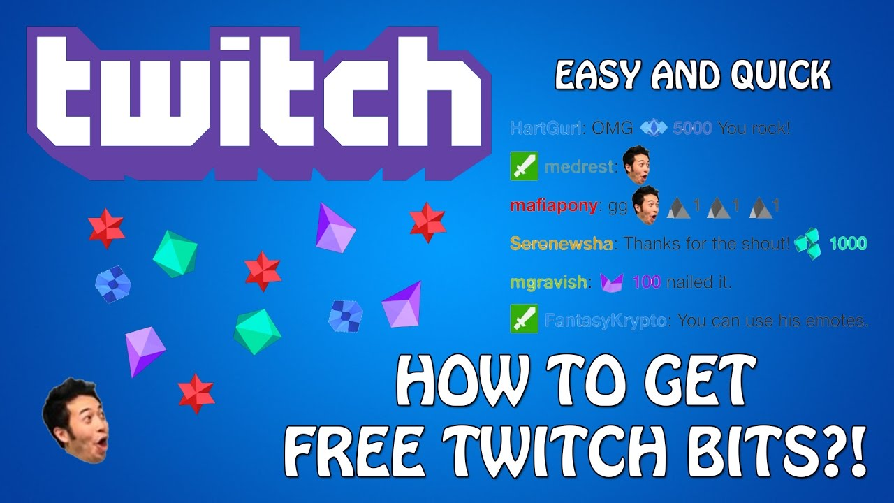 *new Update Is Out* How To Get Free Twitch Bits For Cheering!  November  2016