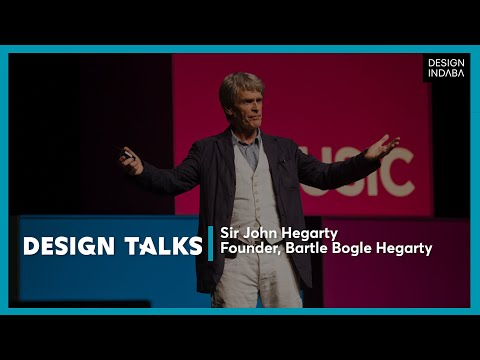 Sir John Hegarty on challenging the status quo