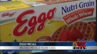 Eggo Waffles Recalled
