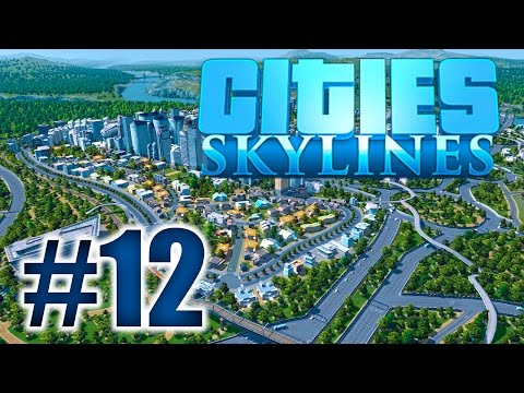 Major Traffic Problems! (Cities Skylines #12)