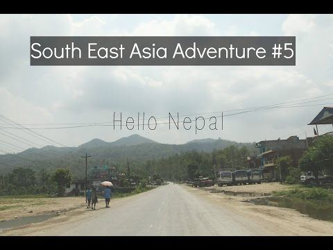 Hello Nepal: Border crossing, Buddha's Birth and Lunch with a View | SE Asia Adventure #5
