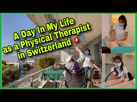 A Day in the Life of a Physiotherapist 👩⚕️Day in the Life of a Filipina's Work Life in Switzerland