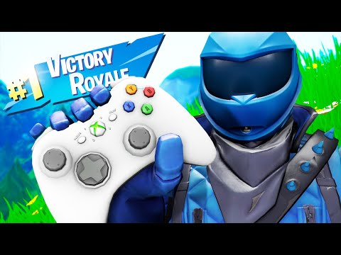 Playing Fortnite With An XBOX 360 SCUF CONTROLLER And WINNING!