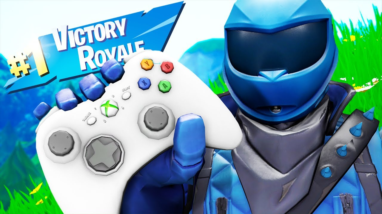 Playing Fortnite With An Xbox 360 Scuf Controller And Winning