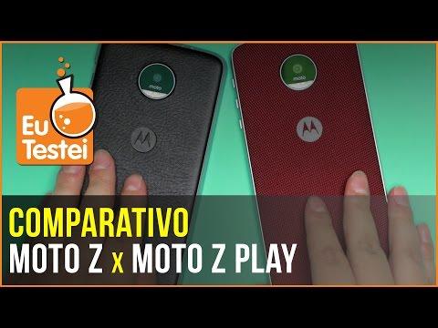 Quem vence a batalha Moto Z x Moto Z Play? Pense duas vezes! - Comparativo EuTestei