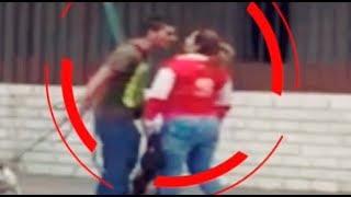 Surco: sujeto agrede a mujer que le reclamó por agredir a mascota