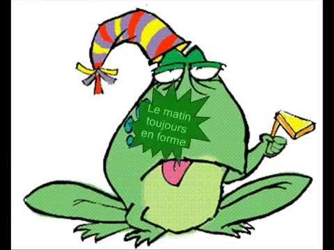 chanson anniversaire grenouille