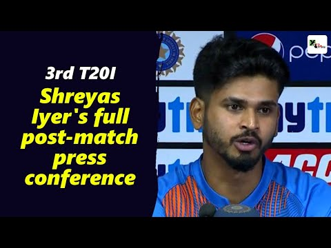 Watch: Rohit Sharma's pep-talk got us motivated to win the match, says Shreyas Iyer