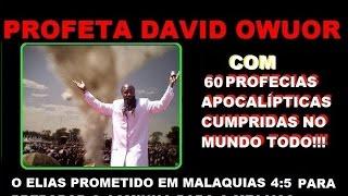O PROFETA ELIAS ESTÁ NA TERRA E VEIO AO BRASIL EM 10/2015! ACORDE!!!