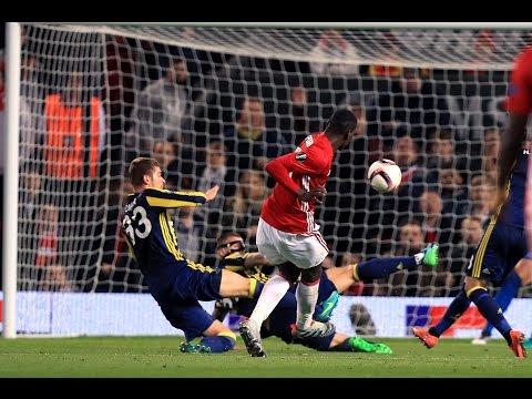 Manchester United 4-1 Fenerbahçe   Goals; Pogba x 2, Lingard, Martial & Van Persie   REVIEW