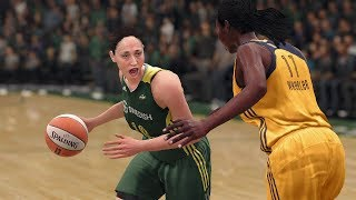 NBA Live 18 - WNBA Seattle Storm vs Indiana Fever Gameplay