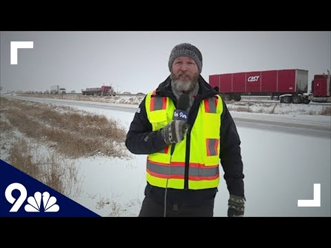 Multiple crashes reported on I-25 in northern Colorado, expect long delays