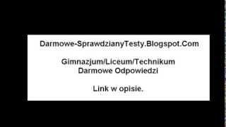 Darmowe-SprawdzianyTesty - największa baza sprawdzianów do podstawówki, gimnazjum, szkoły średniej.