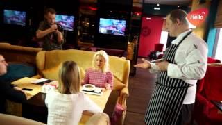 Елена Летучая в ресторане Золотая лихорадка