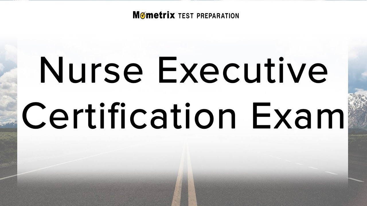 Nurse executive certification exam youtube nurse executive certification exam xflitez Choice Image