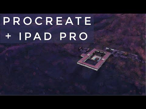 ✏️-procreate-&-ipad-pro---dibujo-arquitectura-/-architectural-renderings---hotel-03-(2019)