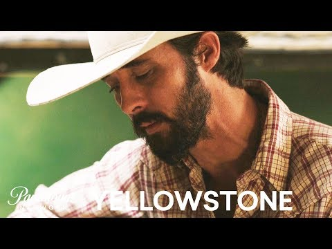 'Ryan Bingham Croons the Bunkhouse' Official Clip | Yellowstone | Paramount Network