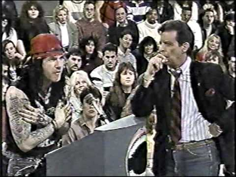 Ace Frehley on Morton Downey Jr pt1