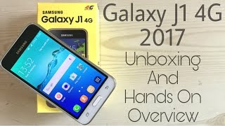 Samsung Galaxy J1 4g 2017 Unboxing amp Overview