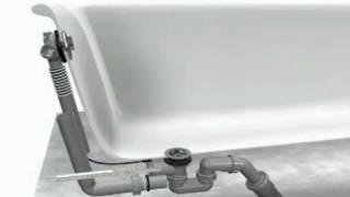 видео Система слив-перелив для ванны