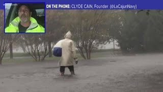 The Cajun Navy says it will resume rescues when weather gets better