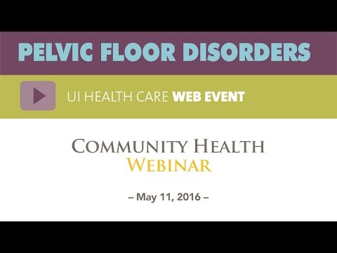 Pelvic Health Problems and also you