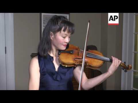 Stolen Stradivarius Returns to Stage